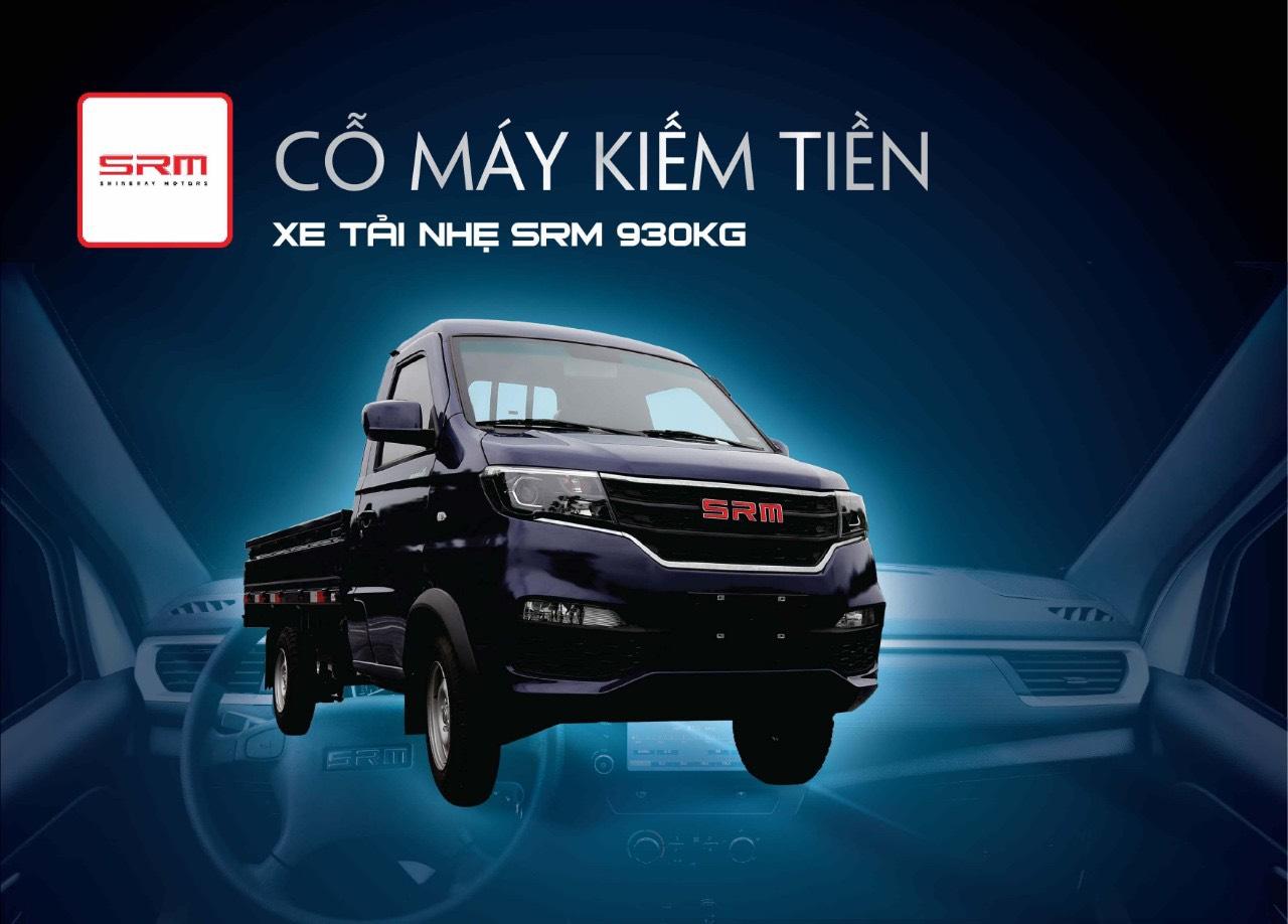 Xe Tải Dongben SRM T20A 990Kg Mới 2020
