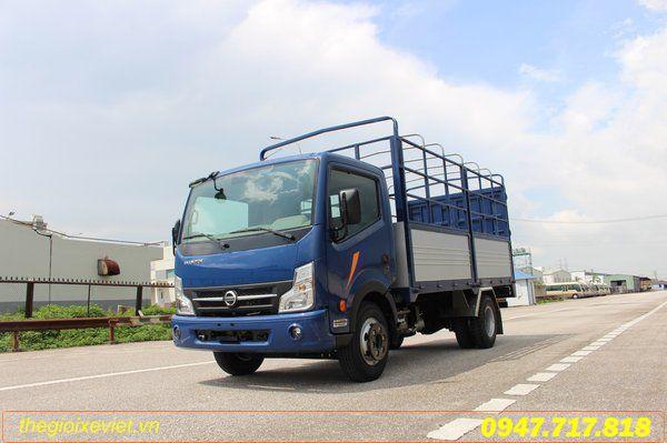 Xe Tải NISSAN CABSTAR NS350 Thùng bạt 3490 KG