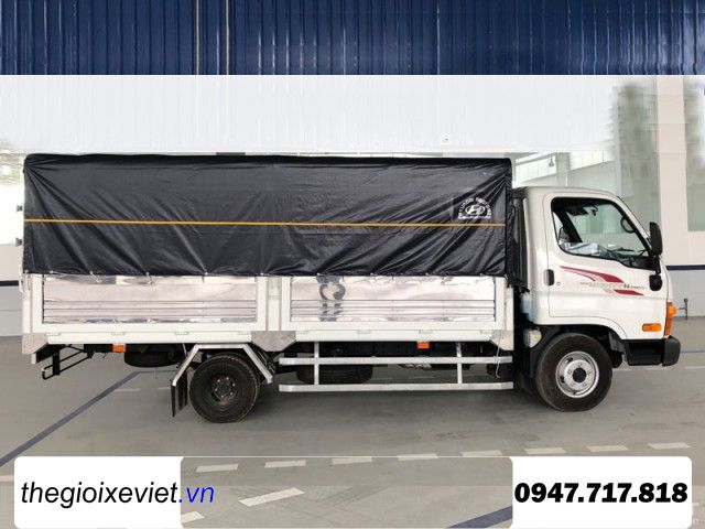 Xe Tải Hyundai Mighty N250SL 2T5 Dài 4m3 Thùng Bạt 2019