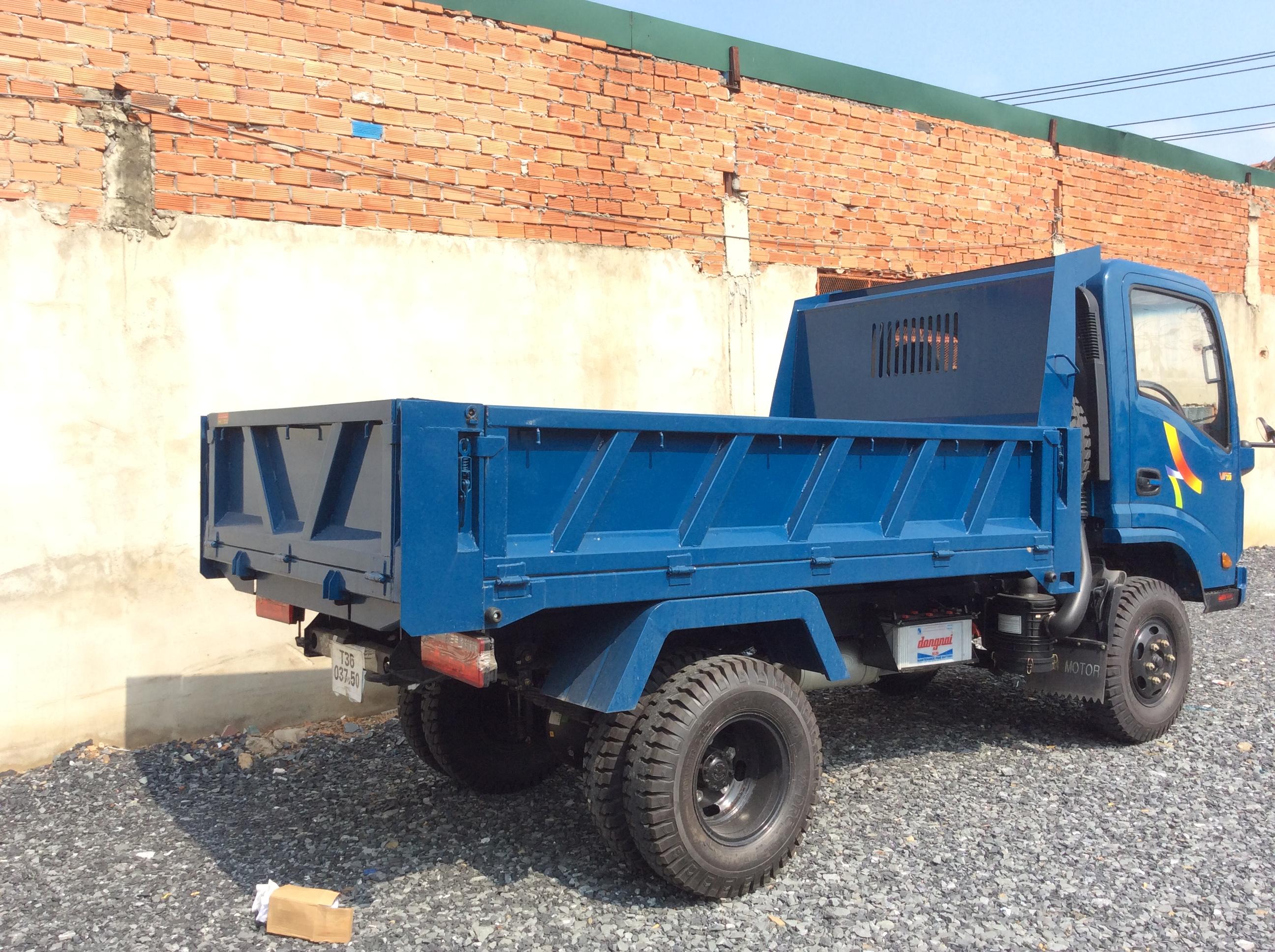 Xe Ben Veam 3t5 VB350  ga cơ
